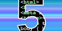 html5 logo courtesy: monkey_bites