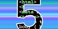 html5 logo courtesy: monkey_bites