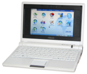 An Asus EEE PC, which had created much hype after it`s launch. (Image Courtesy: Wikipedia)