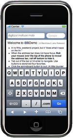 iphone simulator on safari