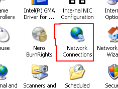 network connection windows xp icon