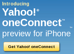 Yahoo! OneConnect goto the appstore