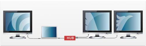 Get more veiwable area with multiple monitors on your desk using ViBooks