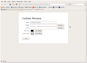 Fill in to get your custom Persona