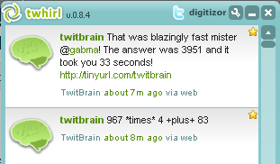 twitbrain helps you improve mental math using twitter  - digitizor