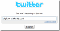twitter search profile for stalkdaily