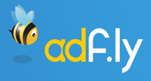 adfly url shortening service earn money logo