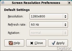 How to switch between different screen resolutions in linux