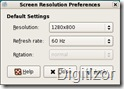 screen resolution tool for linux